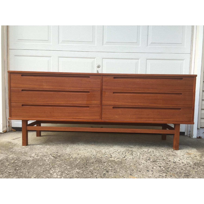 HJN Mobler/Nils Johnsson Danish Modern Six Drawer Dresser - image-5
