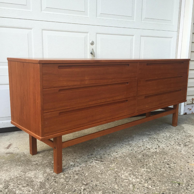 HJN Mobler/Nils Johnsson Danish Modern Six Drawer Dresser - image-7