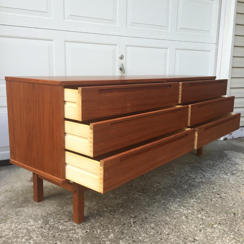 HJN Mobler/Nils Johnsson Danish Modern Six Drawer Dresser - image-10