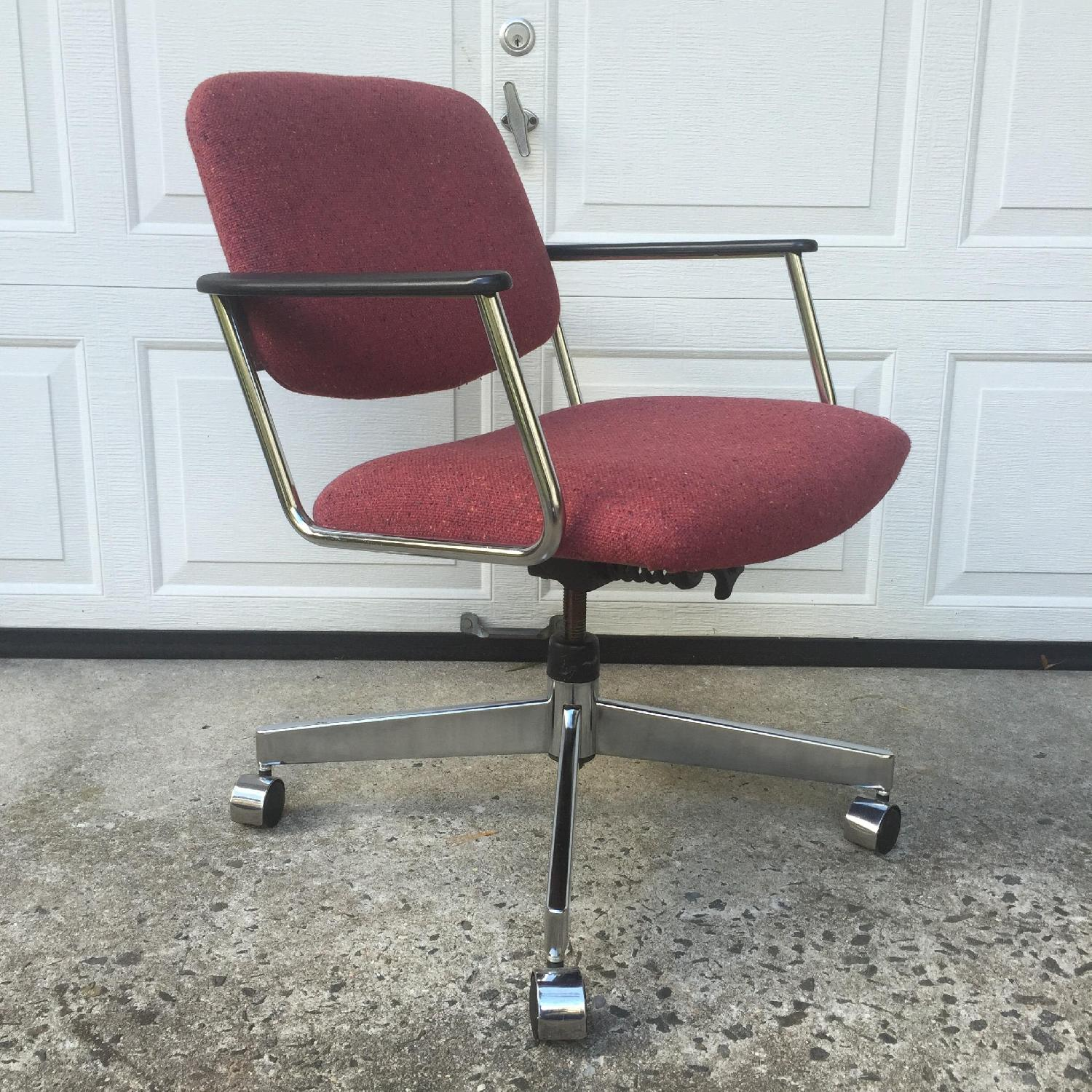HON Vintage Wheeled Office Chair - image-1
