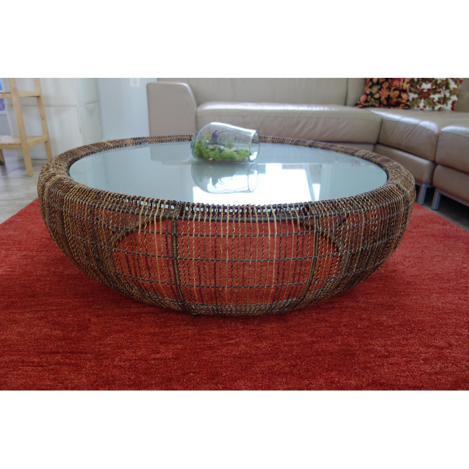 Kenneth Cobonpue Croissant Coffee Table - image-1