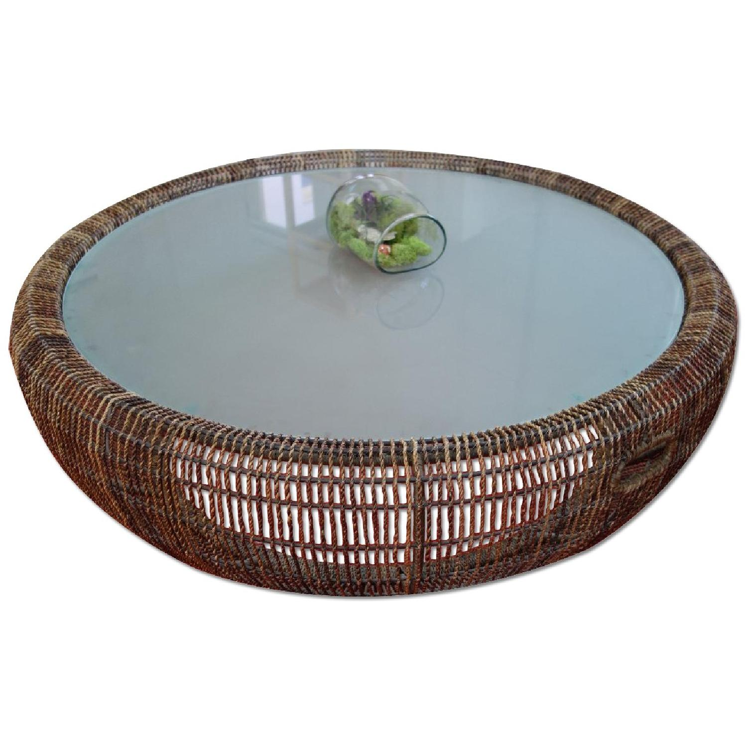 Kenneth Cobonpue Croissant Coffee Table - image-0
