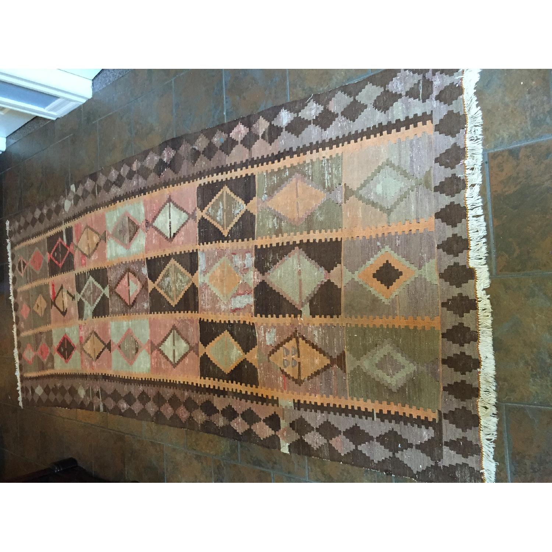 Turkish Antique Kilim Rug - image-4