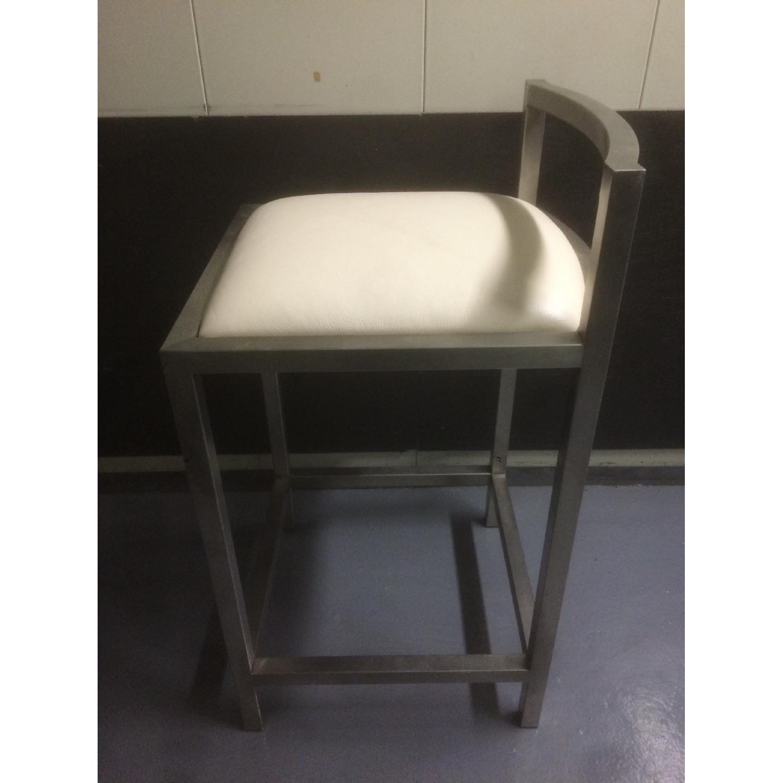 Room & Board Bar Stool with Cushion - Pair - image-2