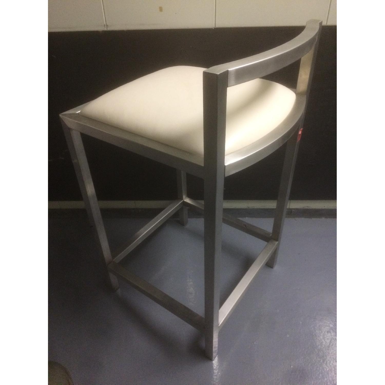 Room & Board Bar Stool with Cushion - Pair - image-3