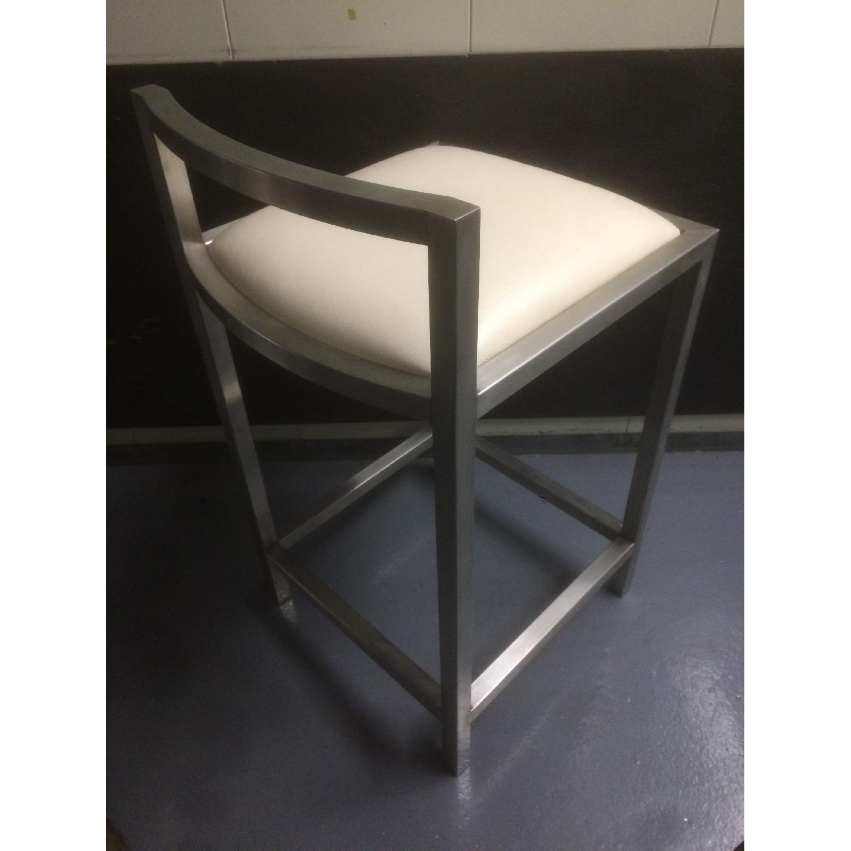 Room & Board Bar Stool with Cushion - Pair - image-4