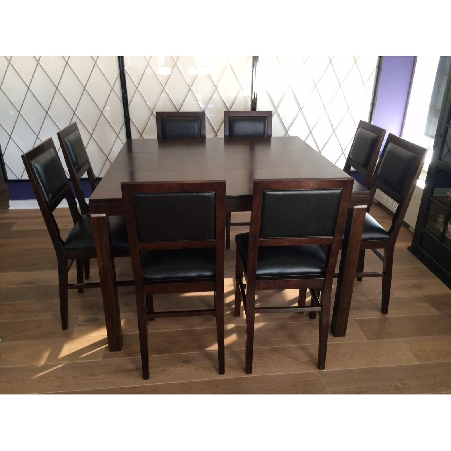 Fortunoff Dining Table w/ 8 Chairs - image-1