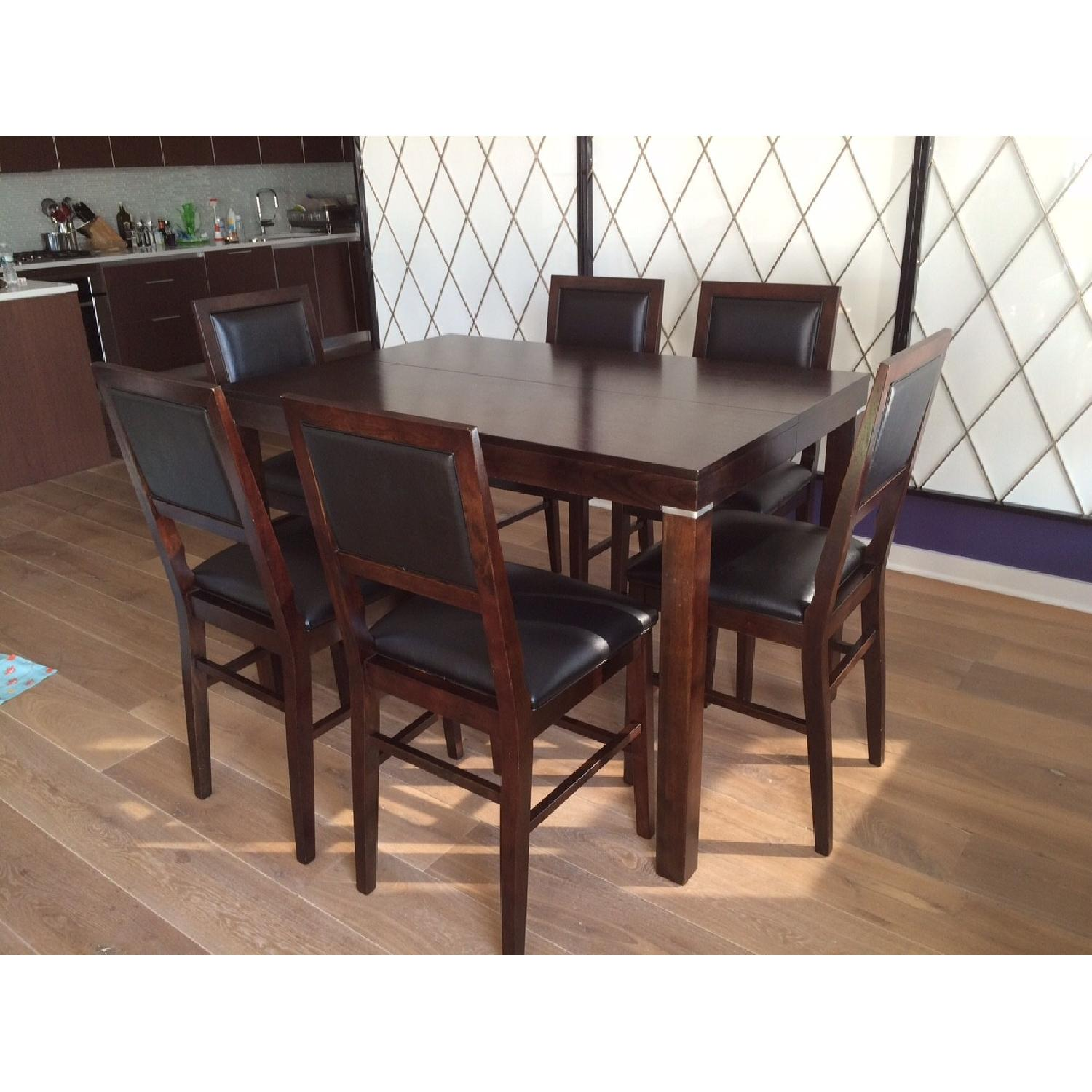 Fortunoff Dining Table w/ 8 Chairs - image-3