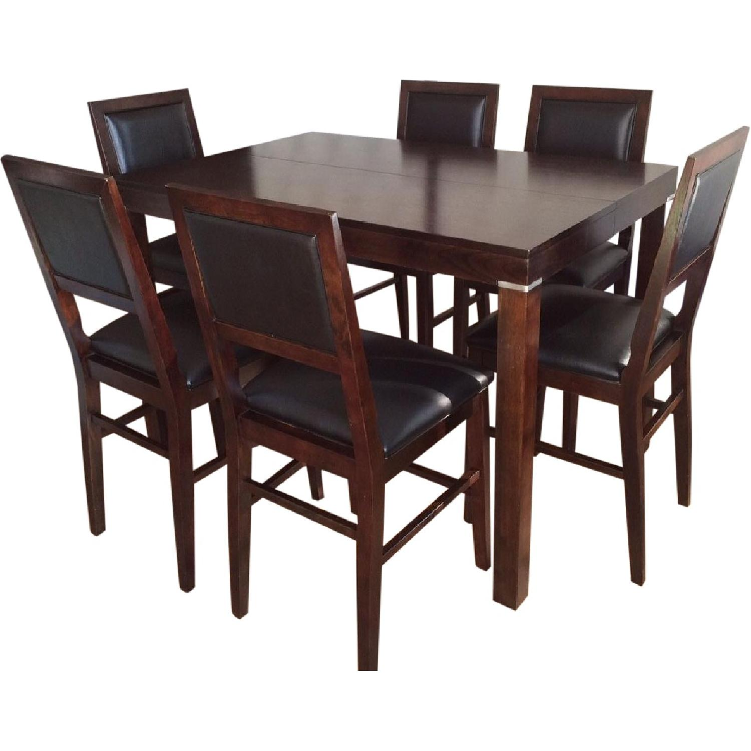Fortunoff Dining Table w/ 8 Chairs - image-0