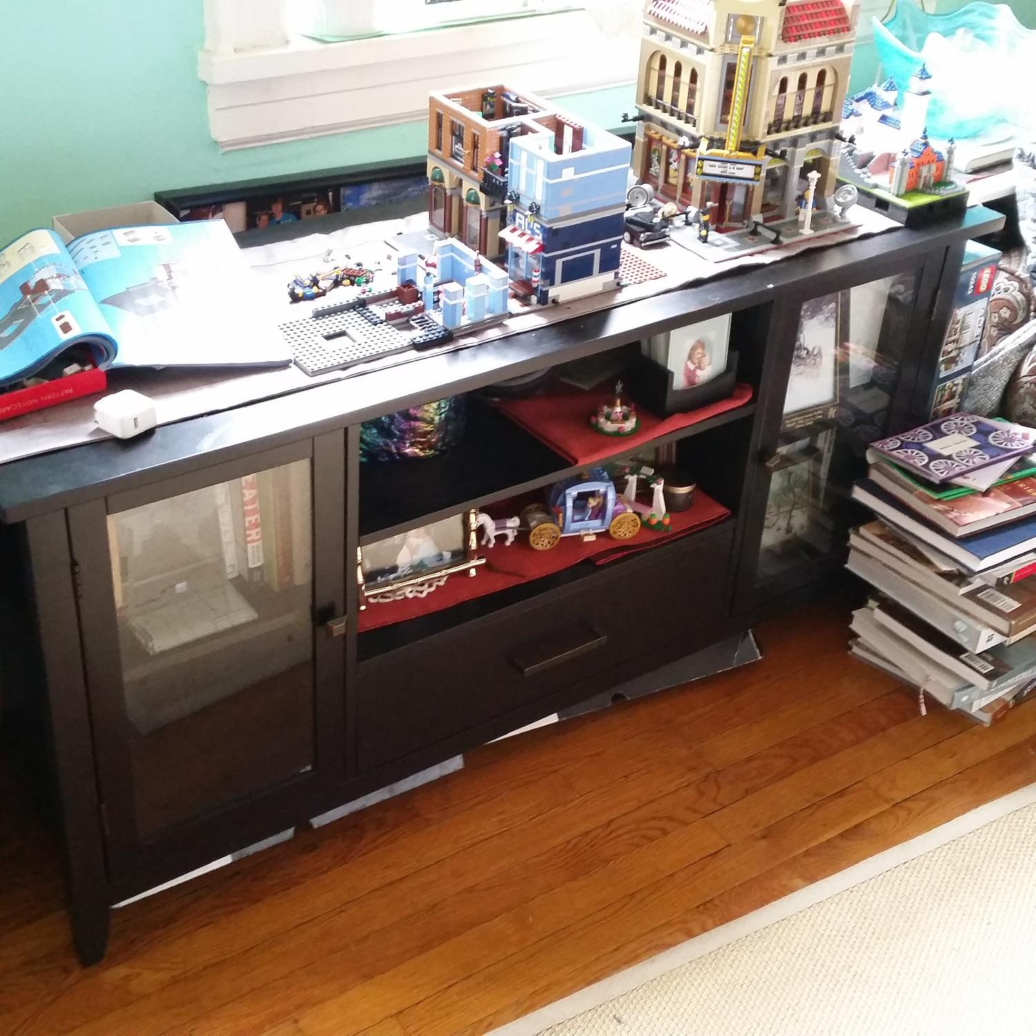 Pier 1 TV Stand - image-1