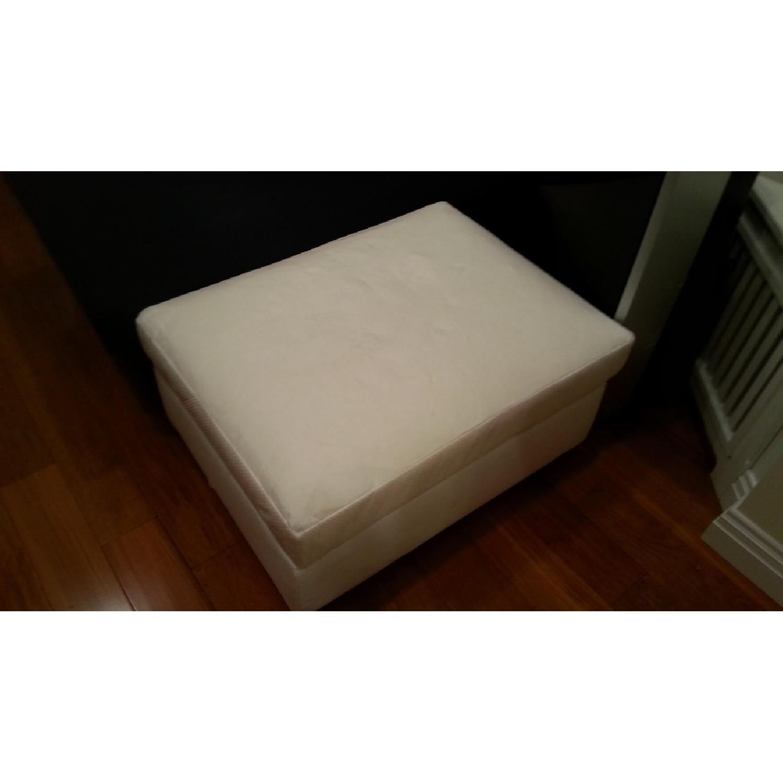 Ikea Ottoman/Footstool w/ Storage - image-1
