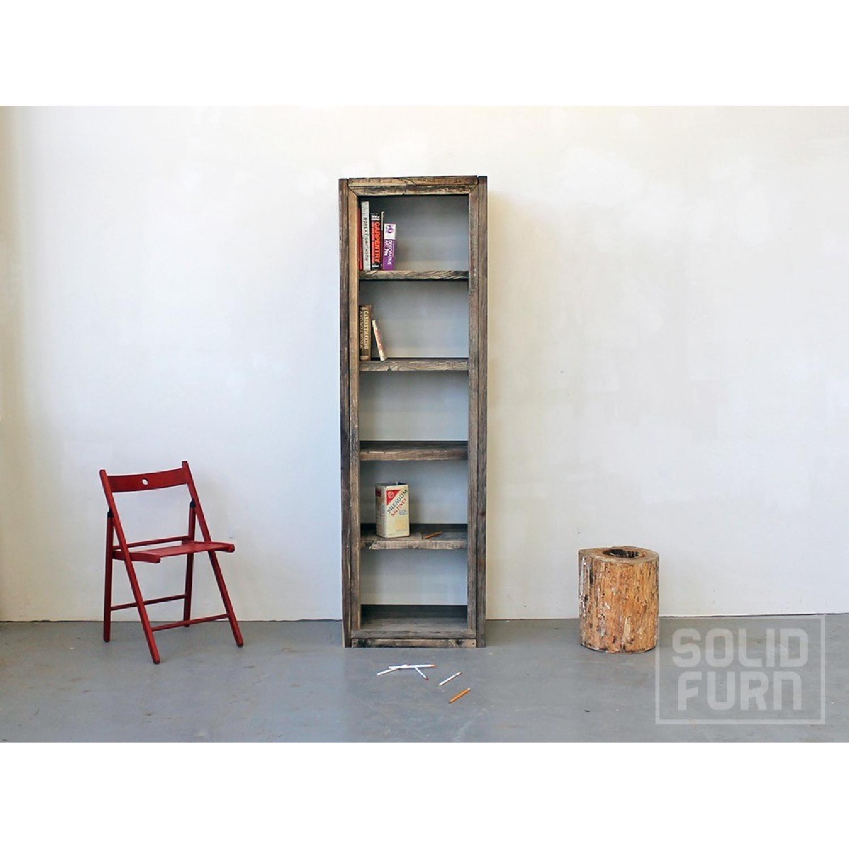 Solid Furn Handmade Reclaimed Pinewood Bookshelf - image-1