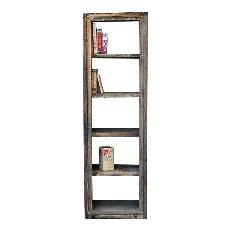 Solid Furn Handmade Reclaimed Pinewood Bookshelf - image-0