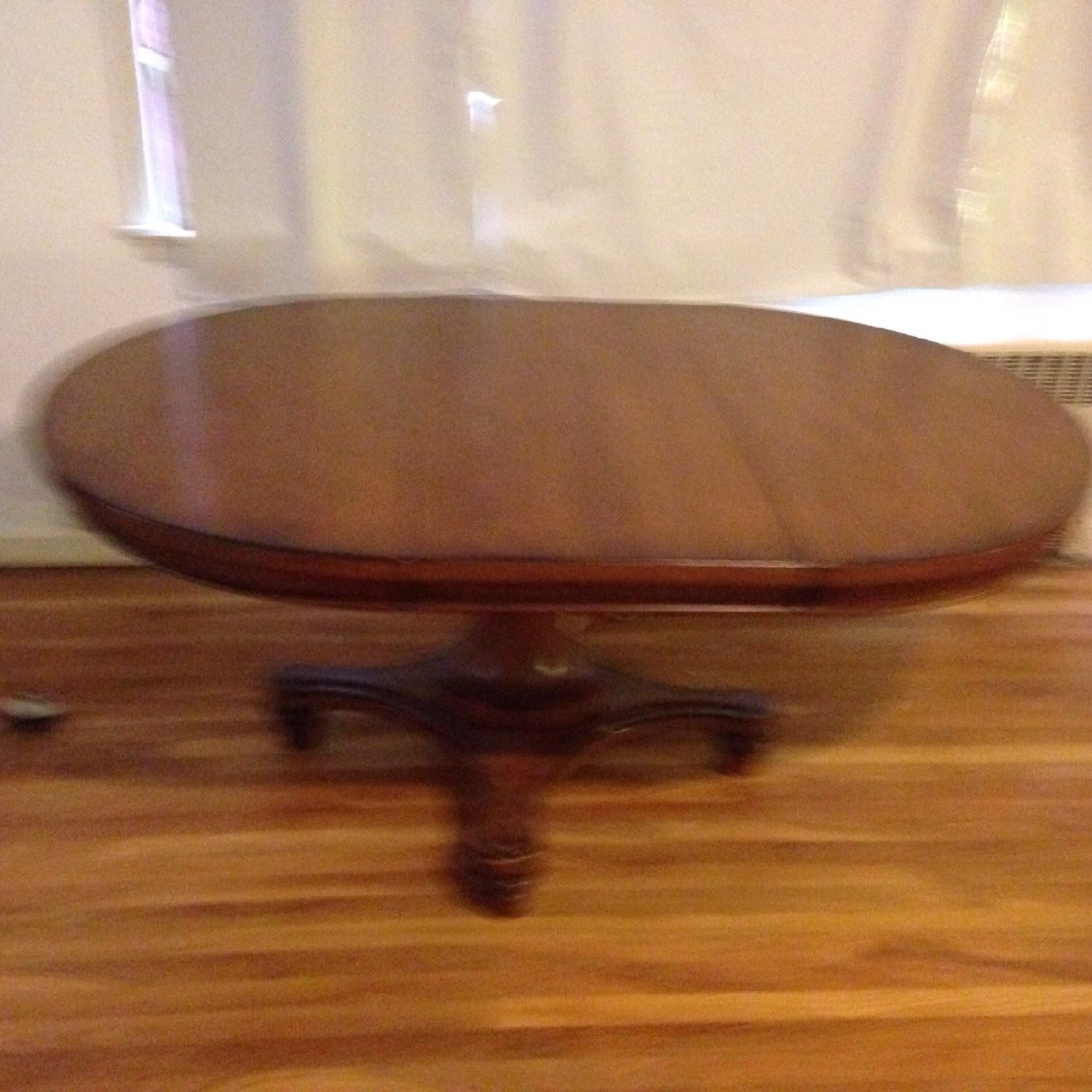 Pottery Barn Dining Room Table w/ Leaf - image-2
