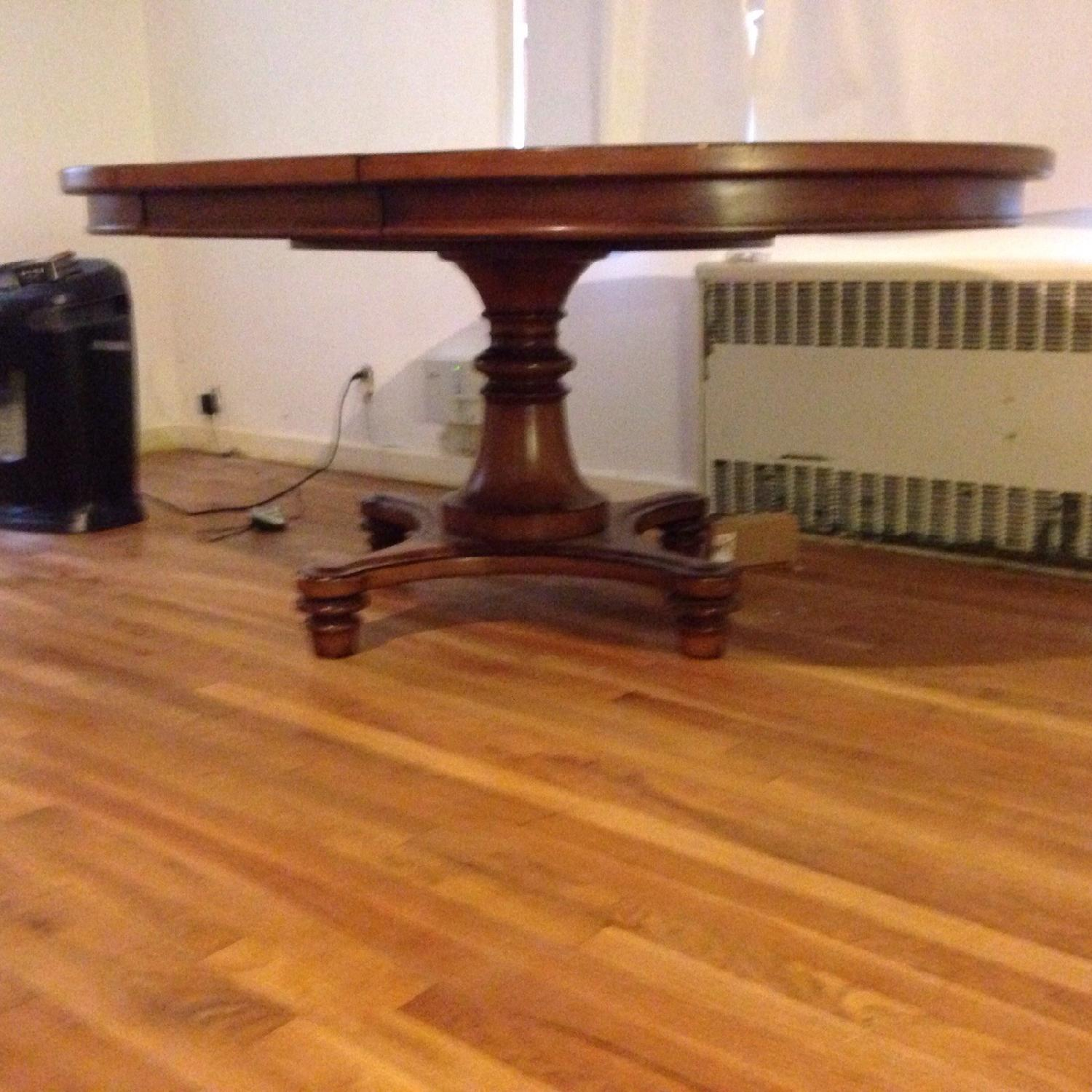 Pottery Barn Dining Room Table w/ Leaf - image-3