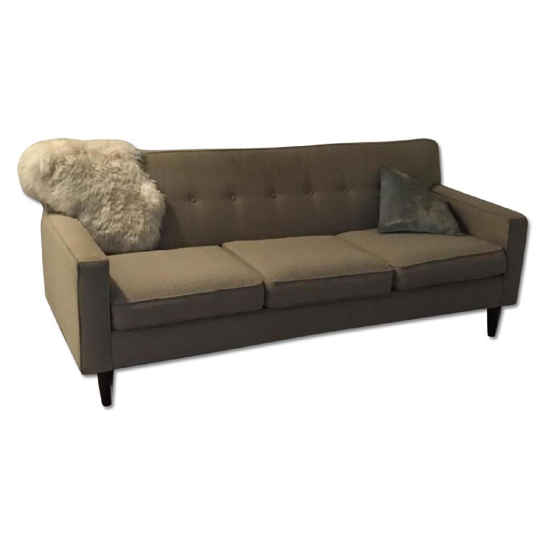 Macy's Mid Century Sofa - image-0