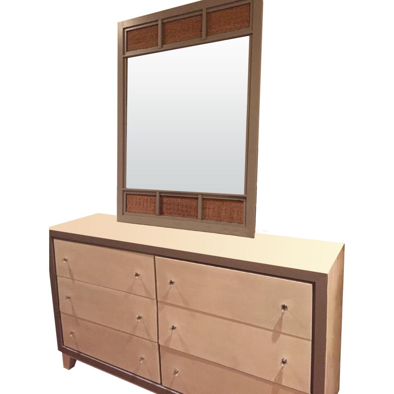 Bassett Boho Chic Dresser W Mirror Aptdeco