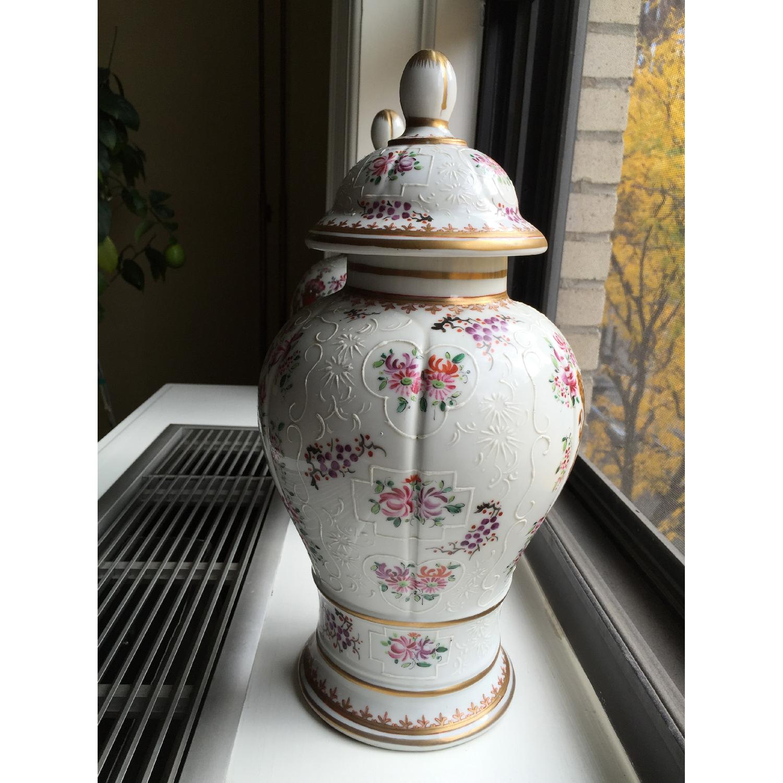 Samson Porcelain Vases - Pair - image-3