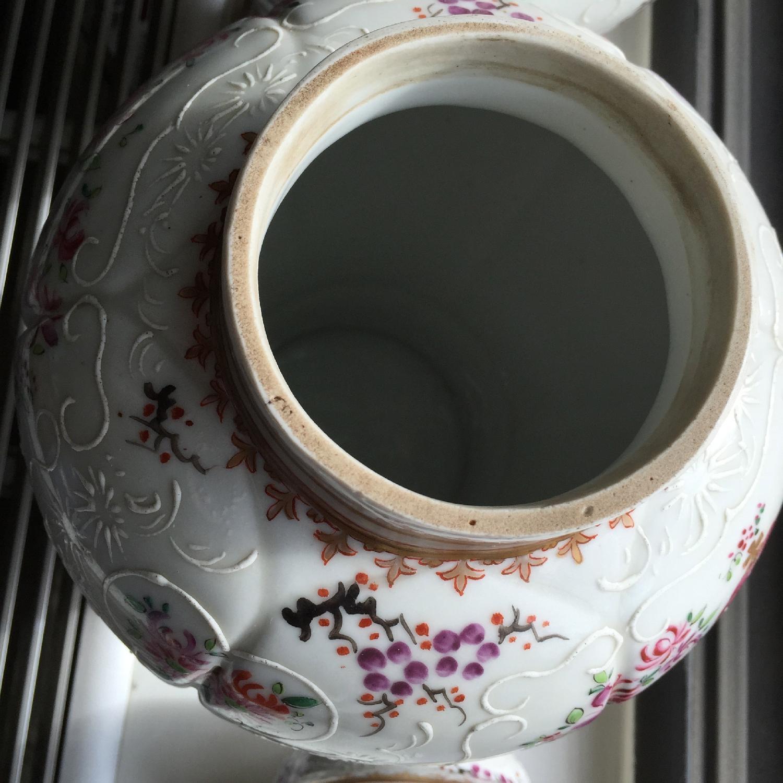 Samson Porcelain Vases - Pair - image-5