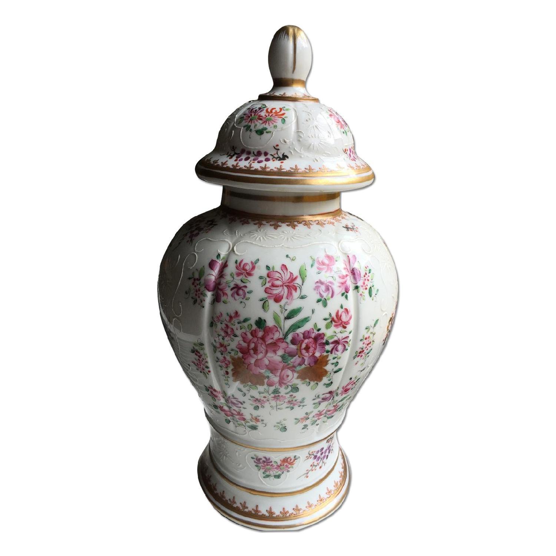 Samson Porcelain Vases - Pair - image-0