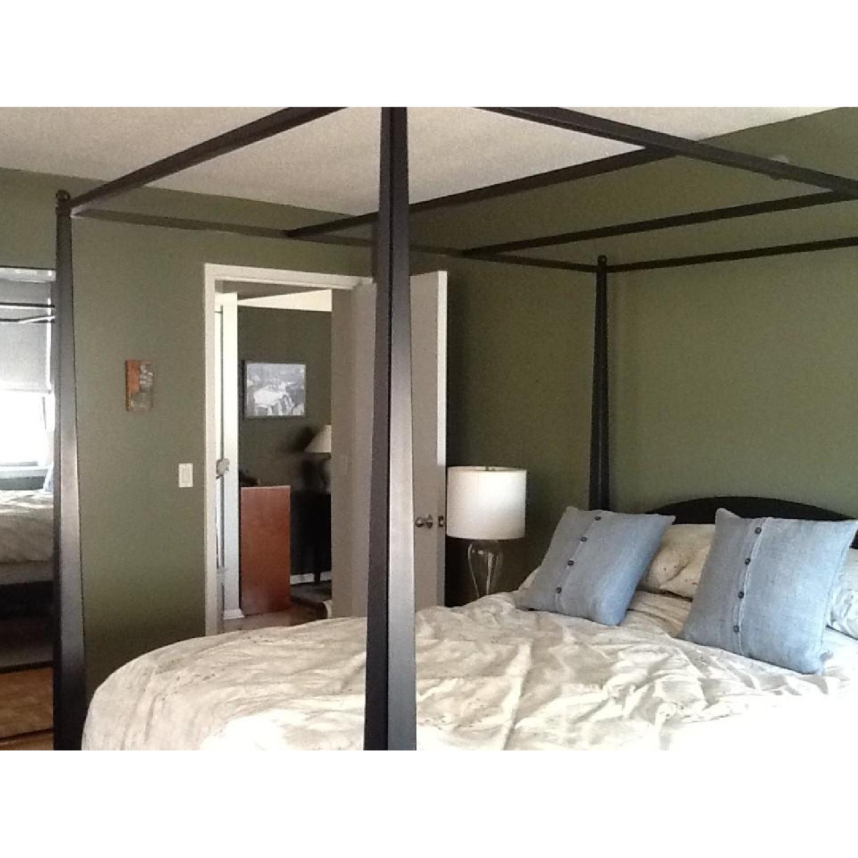 Ethan Allen 3 Piece Queen Canopy Bedroom Set - image-5