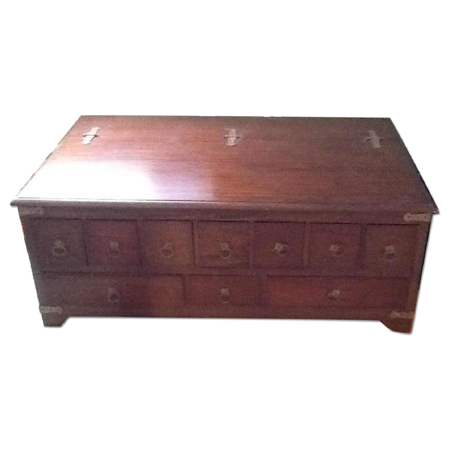 Spice Chest Coffee Table - image-0