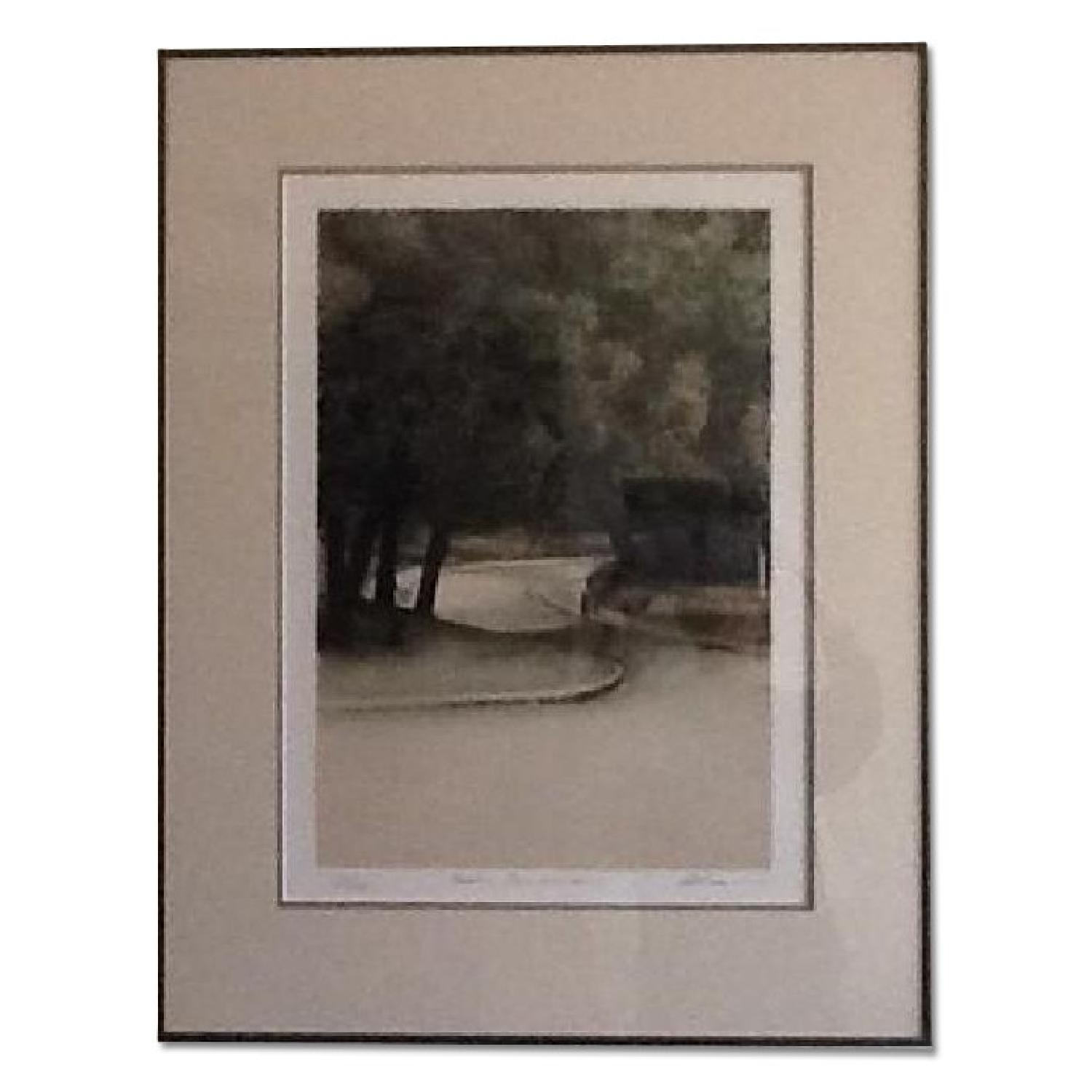 Harold Altman Numbered & Penciled Signed Lithograph - Parc Montsouris - image-0