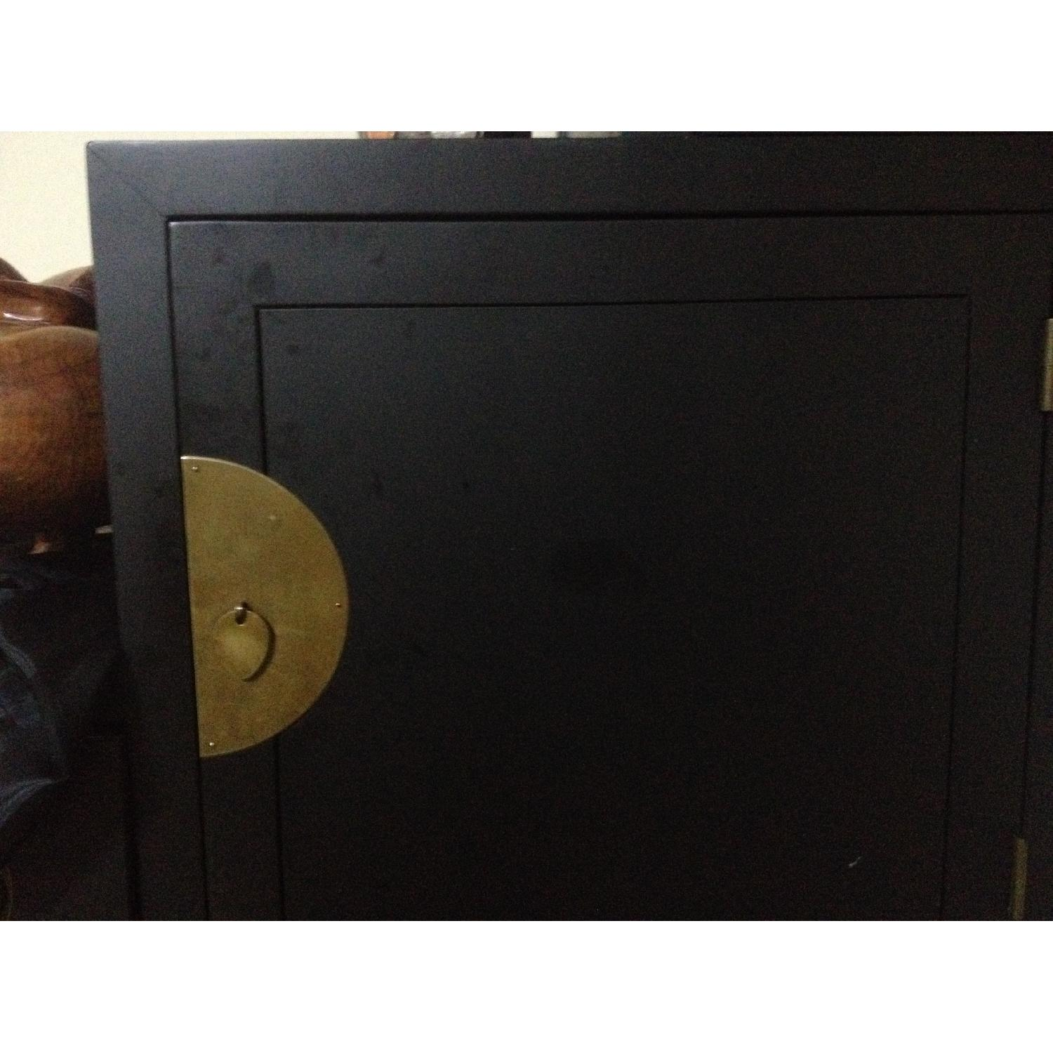 Black Japanese Tansu Chest - image-2