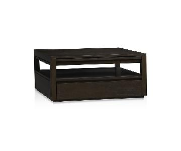 Crate & Barrel Tourney Square Coffee Table