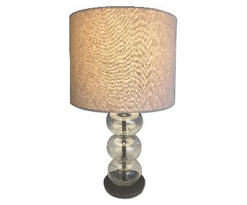West Elm Abacus Glass Table Lamp
