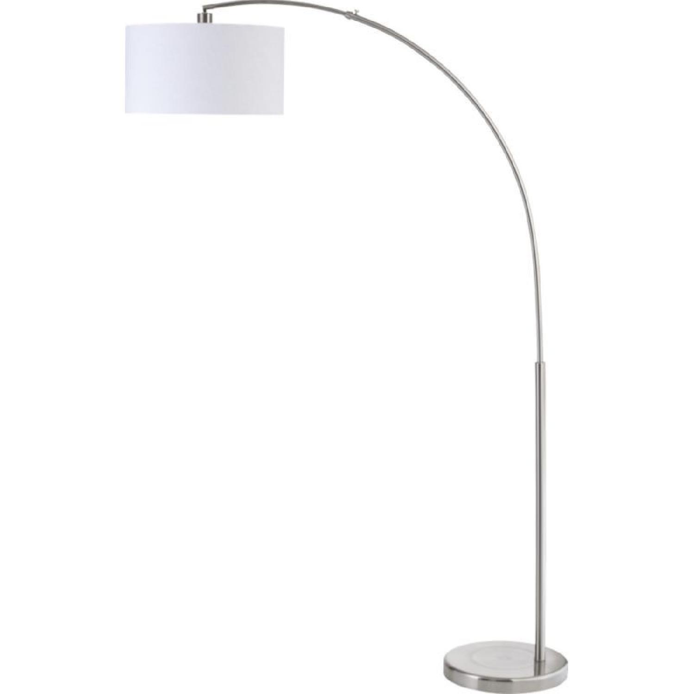 CB2 Big Dipper Silver Arc Floor Lamp ...