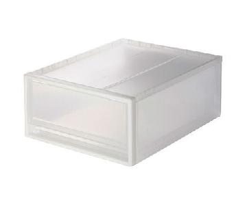 Muji Transparent Storage Drawer