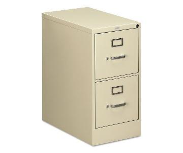 HON 2 Drawer File Cabinet