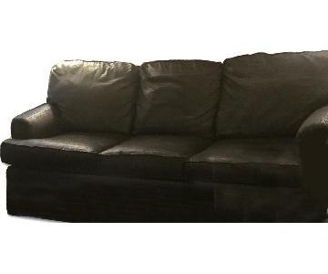 Fairfield Black Sofa