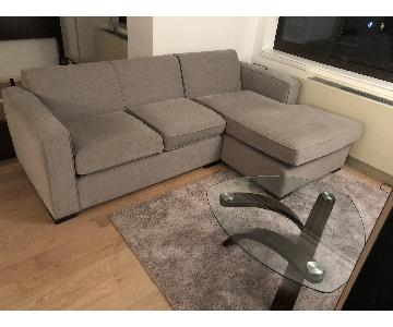 Room & Board Ian Sofa w/ Right-Arm Chaise