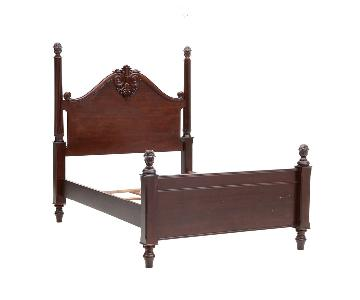 Bombay Company Adderley Mahogany Four Poster Queen Bed