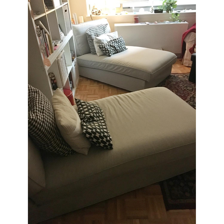 ... Ikea KIvik Chaise in Orrsta Light Gray-2  sc 1 st  AptDeco : kivik chaise - Sectionals, Sofas & Couches