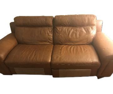 Raymour & Flanigan Power Reclining Sofa