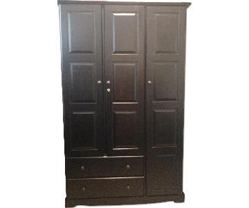 Designer Furniture NY Solid Wood Wardrobe