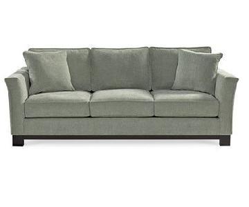 Macy's Kenton Three Seat Fabric Sofa