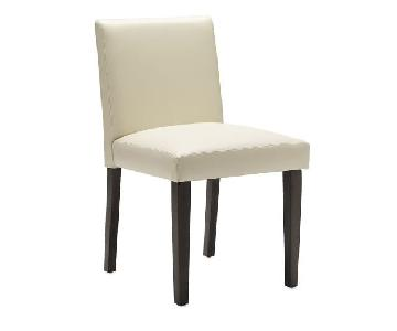 West Elm Faux Leather Chair