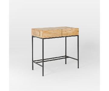 west elm small industrial desk