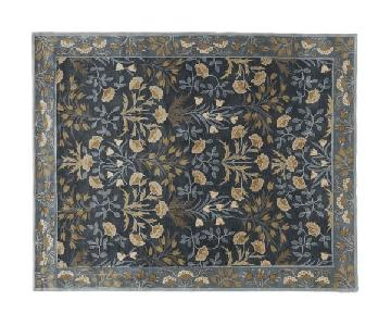 Pottery Barn Adeline Navy Area Rug