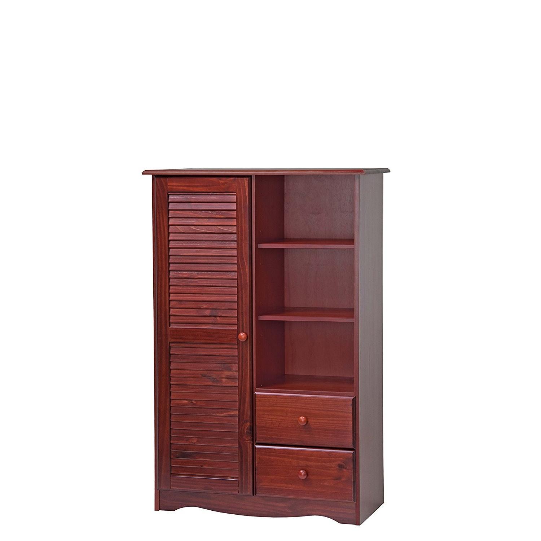 Mahogany Solid Wood Door Chest