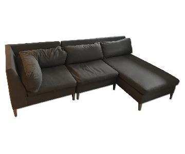 CB2 Cielo 3 Piece Sectional Sofa