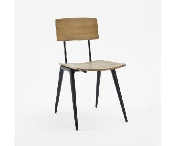 West Elm Slope Leg Dining Chair