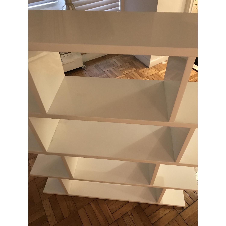 ... CB2 3.14 White Bookcase 3