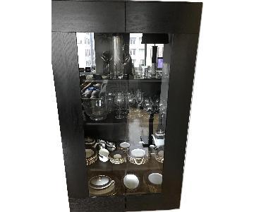 BoConcept Glass & Wood China Cabinet