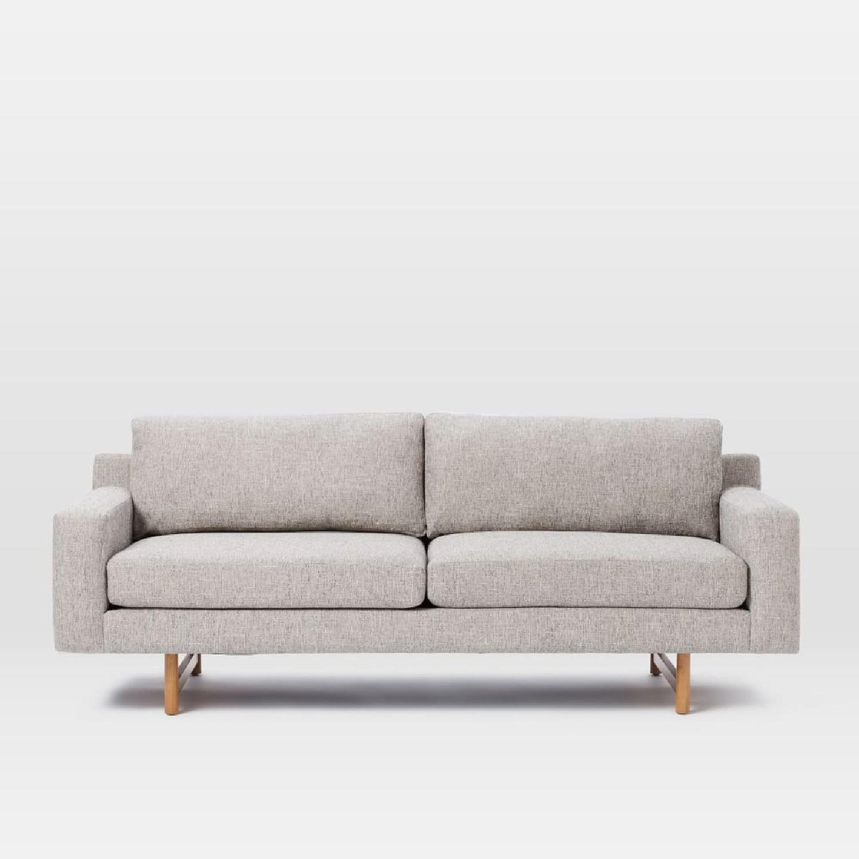 west elm feather gray eddy sofa aptdeco. Black Bedroom Furniture Sets. Home Design Ideas