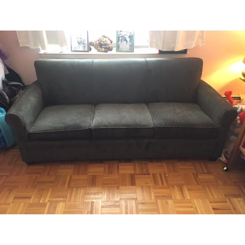 ... Crate U0026 Barrel Queen Sleeper Sofa 0 ...